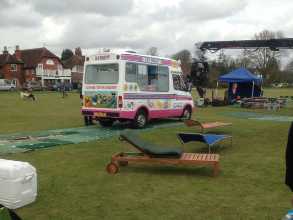 Mr Whippy ice cream van TV and film hire in Kent