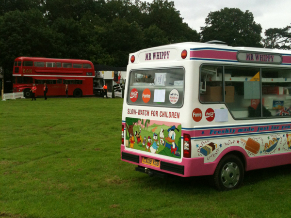Mr Whippy ice cream van events hire in Kent