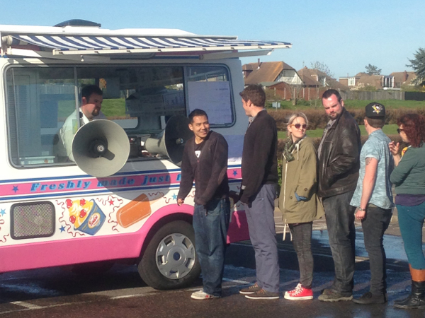 Ice Cream Van Hire for TV Production