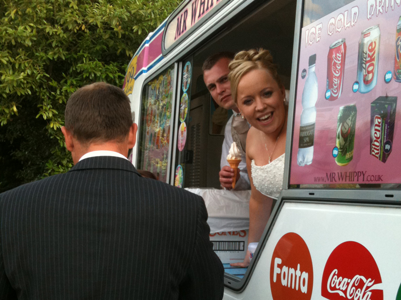 Mr Whippy Wedding Hire